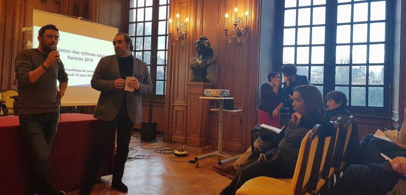 La Ville de Rouen a lancé sa grande concertation sur les rythmes scolaires
