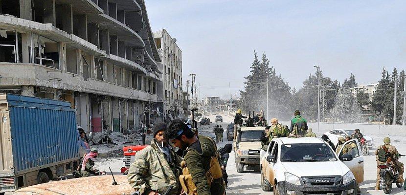 Syrie: les forces pro-turques renforcent leur emprise sur Afrine