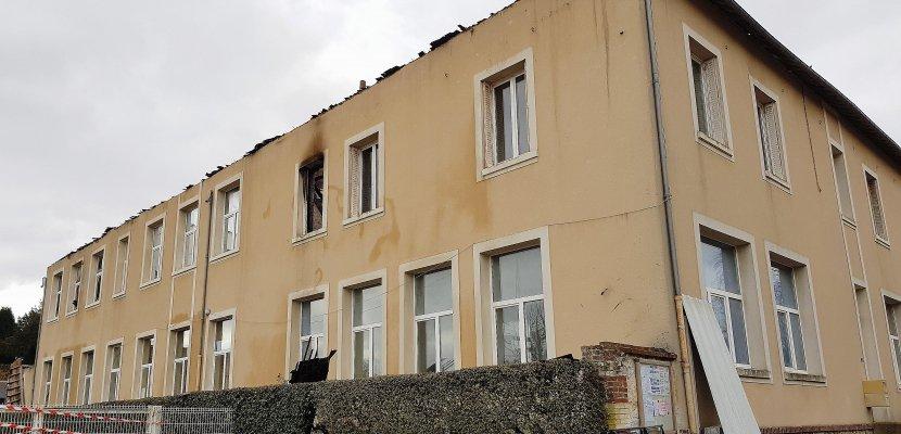 Après l'incendie de l'école, Potigny s'organise