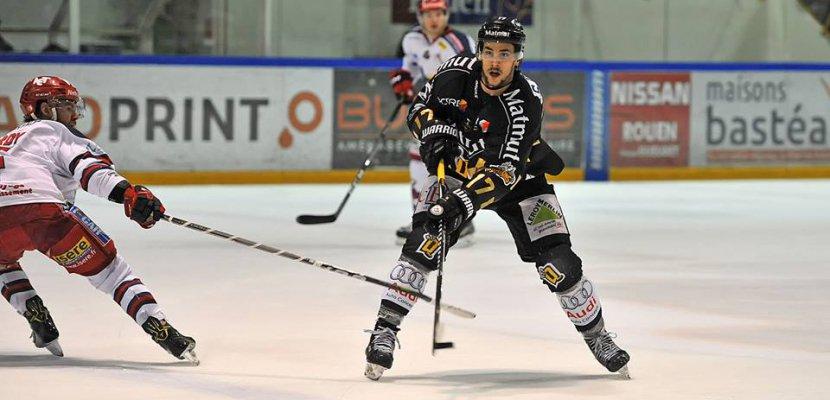 Hockey-sur-glace: les Dragons de Rouen font le break chez les Brûleurs de Loup de Grenoble