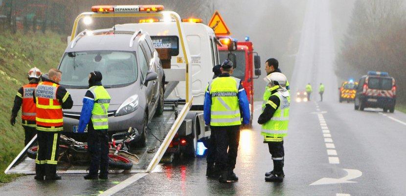 Accident sur l'axe Coutances/Saint-Lô:le pilote tué est un ado de 14 ans