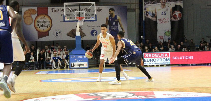 Basket : battu 70-58 à Blois, le Caen BC n'est plus que 16e de Pro B