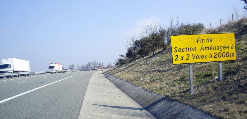Mise à 2x2 voies de la RN12: de très lentes avancées