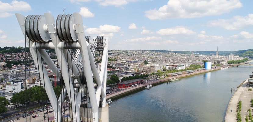Rouen vue par un drone: de l'inédit!