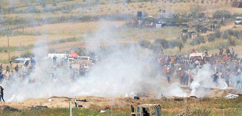 Nouveaux heurts entre Palestiniens et soldats à la frontière Gaza-Israël