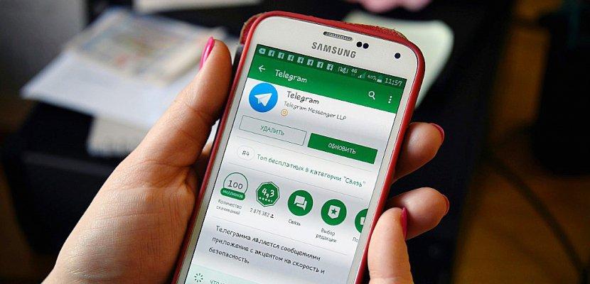Russie: les autorités demandent le blocage de Telegram