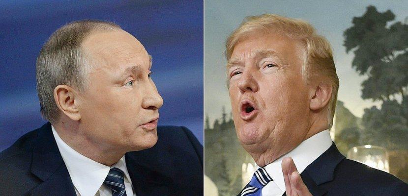 """Washington sanctionne des """"oligarques"""" proches de Poutine, Moscou promet une """"réponse dure"""""""
