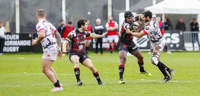 Le Rouen Normandie Rugby s'offre le dauphin, Albi