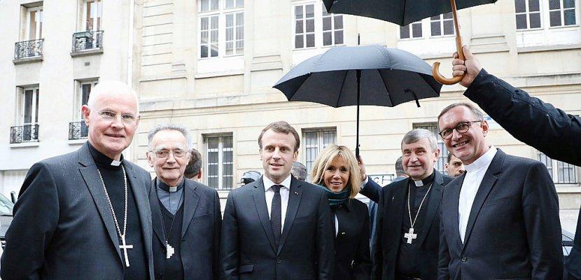Macron et les catholiques: droite et centre entre circonspection et soutien