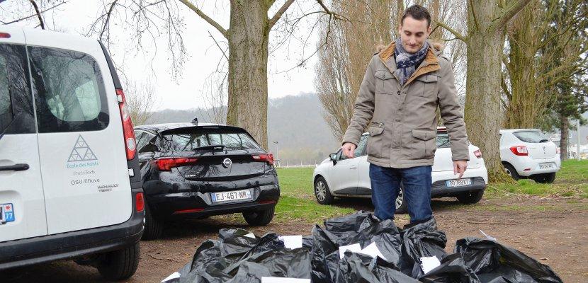 Lâcher de déchets dans la Seine: 10% retrouvés et une balise GPS volée