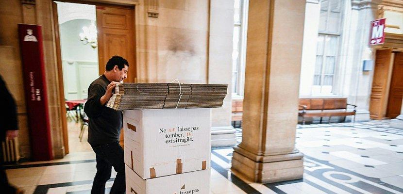 Entre nostalgie et résignation, le Palais de justice fait ses cartons