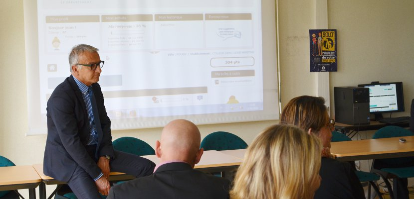 Seine-Maritime : des cours sur Internet pour les collégiens