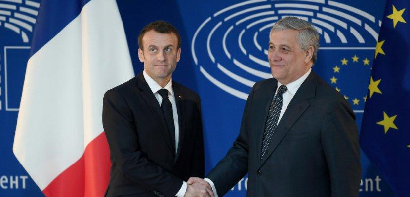 Macron passe son grand oral européen à Strasbourg