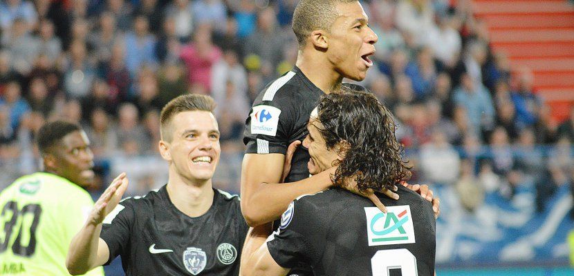 Coupe de France (SMC-PSG, 1-3) : Paris en finale, Caen battu mais valeureux
