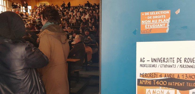 Parcoursup : le président de l'université de Rouen demande l'ouverture de négociations