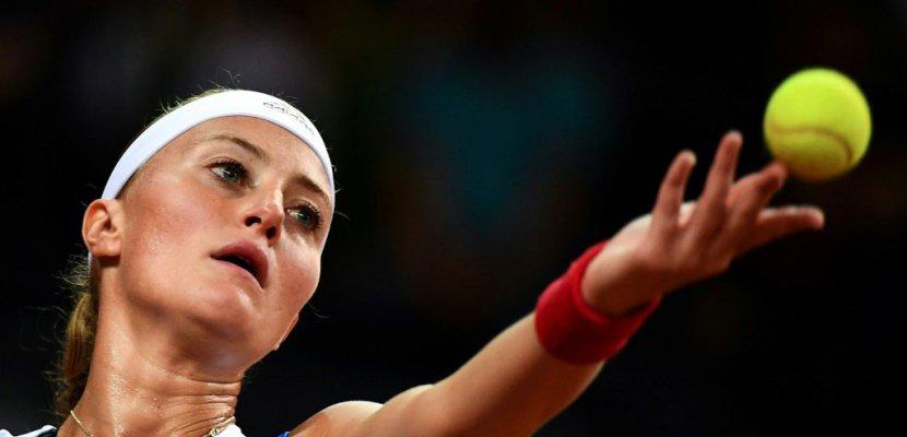 Fed Cup: Mladenovic surclassée par Stephens, la France près de l'élimination