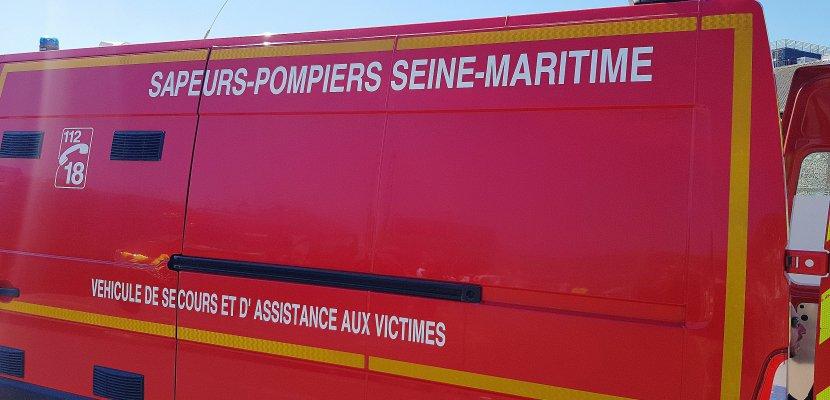 Seine-Maritime: l'A150 bloquée à cause d'une citerne qui se couche