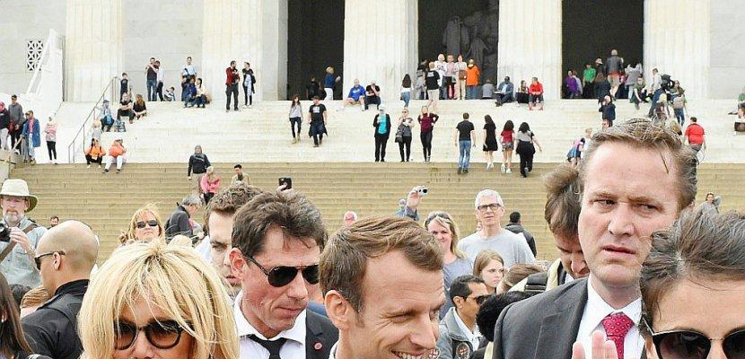 Macron en visite d'Etat à Washington pour des discussions délicates avec Trump