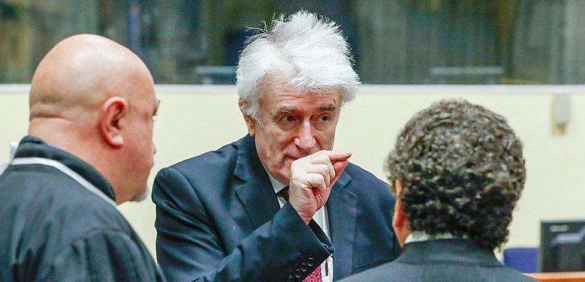 Génocide: dernière prise de parole de Karadzic devant ses juges en appel
