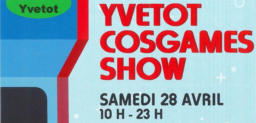 Weekend rétro à Yvetot avec la première éditiond'Yvetot Cosgames Show