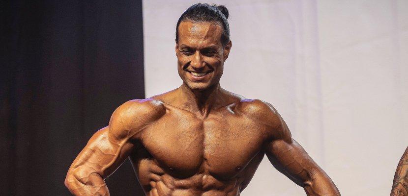Un Caennais au championnat d'Europe de bodybuilding