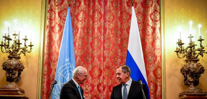 Sommet sur la Syrie: les chefs de la diplomatie turque et iranienne à Moscou