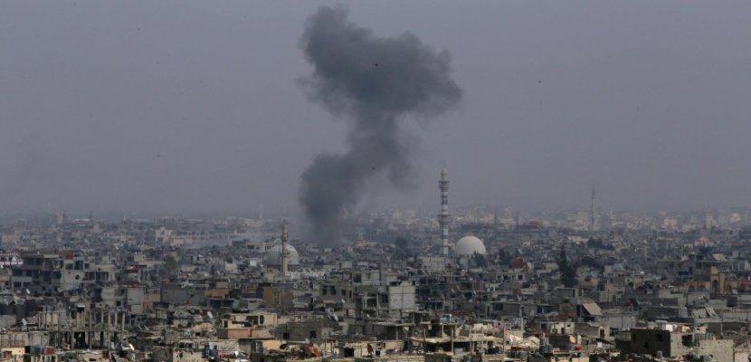 """Syrie: des """"missiles"""" tirés sur des """"positions militaires"""" du régime"""