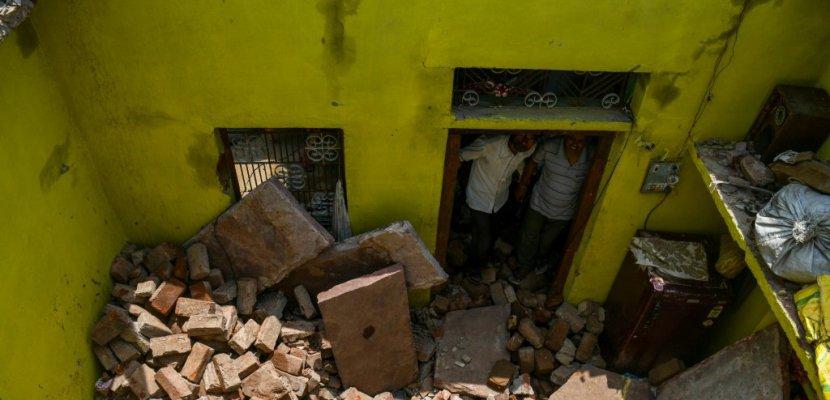 Près de 150 morts dans les tempêtes en Inde, toujours en alerte
