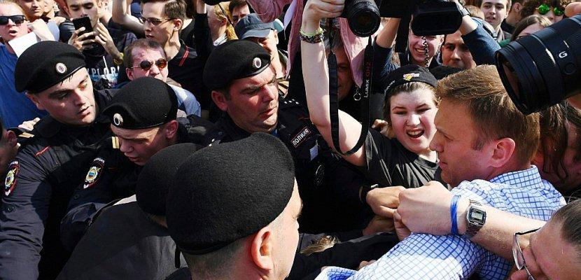 L'opposant russe Navalny relâché après une manifestation anti-Poutine
