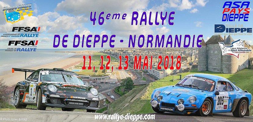 46eme Rallye de Dieppe Normandie les 11, 12 et 13 mai