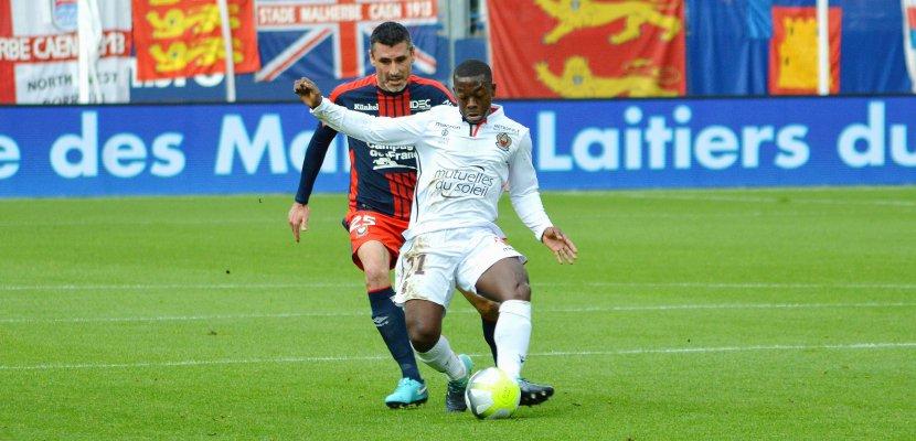 Football (Ligue 1, 37e journée) : Caenatomiséà Nice mais encore en vie...