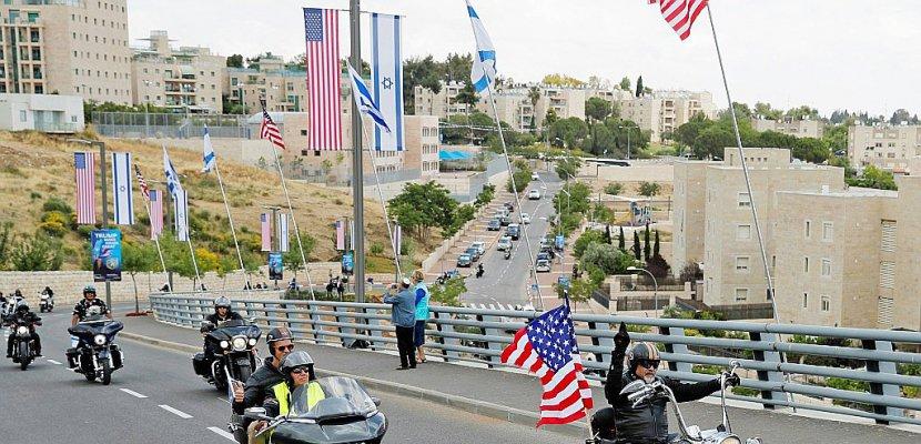 Israël en pleine ferveur pro-américaine à l'aube d'une semaine à hauts risques
