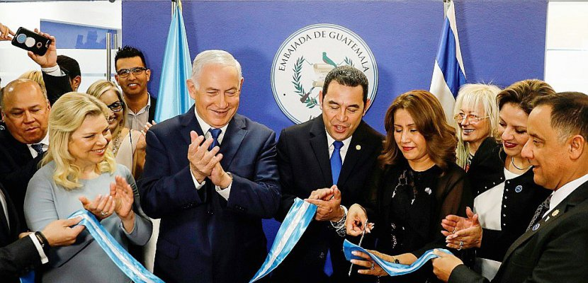 Après les Etats-Unis, le Guatemala inaugure son ambassade à Jérusalem