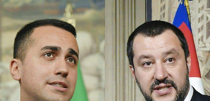 """Italie: une """"ébauche"""" de programme Ligue-M5S suscite une vague d'inquiétude"""