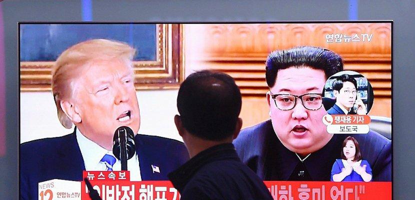 Washington a bon espoir que le sommet avec Kim se tienne