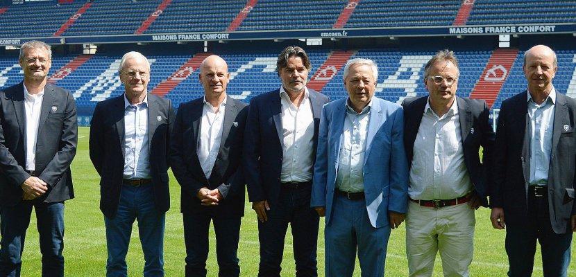 Football : premier oral de Gilles Sergent et son directoire au Stade Malherbe Caen