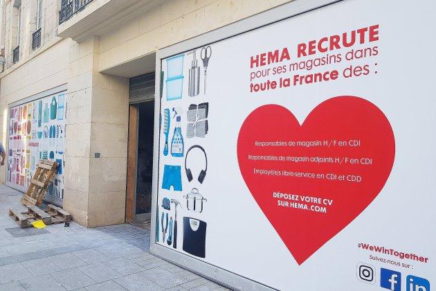 Un nouveau magasin Hema dans le centre-ville de Caen