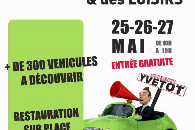 Le salon de l'auto, du camping car et des loisirs du 25 au 27 Mai à Yvetot