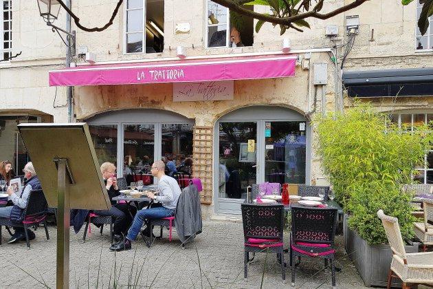 Bonne table à Caen: déjeuner italien à La Trattoria