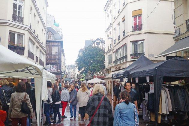 Le centre-ville de Rouen va vivre le week-end au rythme de la braderie