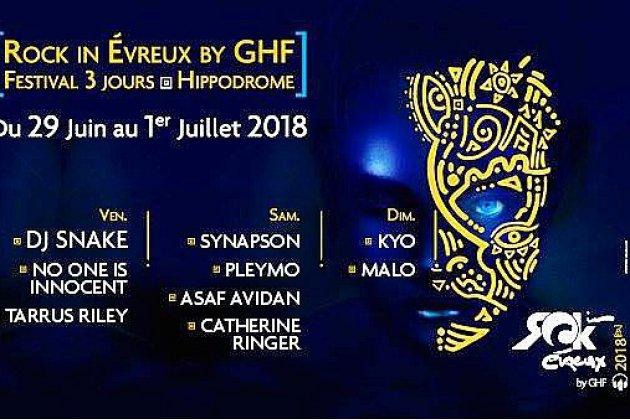 Jeu : votre pass 3 jours pour le festival Rock in Evreux à gagner sur Tendance Ouest