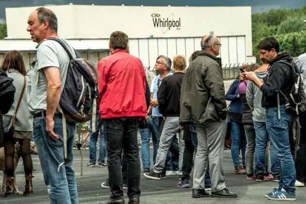 Dernier jour pour l'usine Whirpool d'Amiens