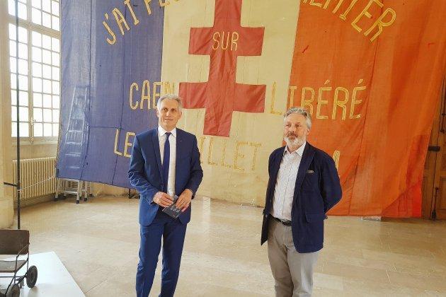 Une expo à l'hôtel de Ville pour l'anniversaire du Mémorial de Caen