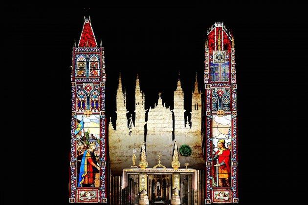 Son et lumière à la cathédrale de Rouen