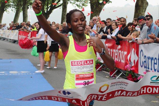 Courants de la Liberté : l'Afrique, taille patron sur le marathon de la Liberté !