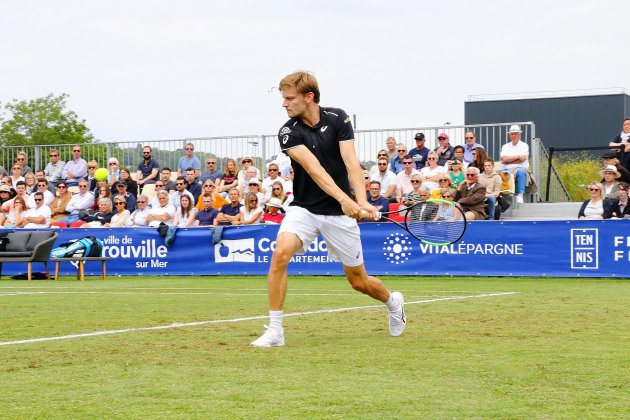Tennis : David Goffin remporte l'Open de Deauville sur gazon