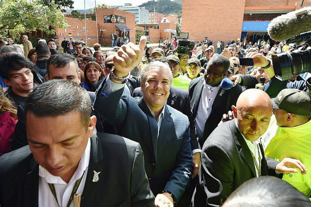 Présidentielle en Colombie: duel droite/gauche, la paix en toile de fond