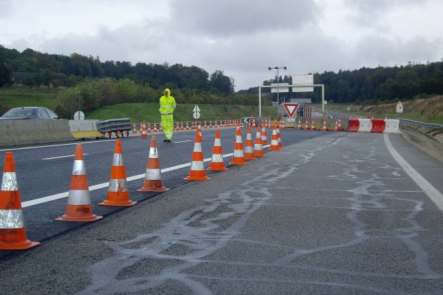 Autoroute A28: l'échangeur de Beaumont fermé pendant trois nuits