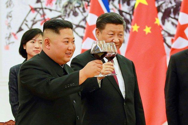 """Kim Jong Un loue """"l'unité"""" avec la Chine lors de sa nouvelle visite"""