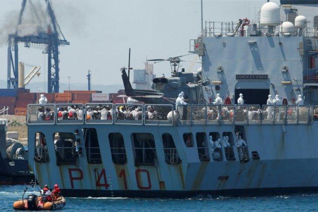 Espagne: des mineurs de l'Aquarius fuguent de leur résidence